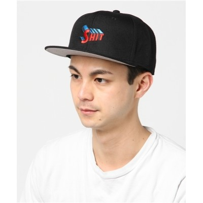 "MEDICOM TOY / Sync.【D*FACE】SNAP BACK CAP ""SHIT"" MEN 帽子 > キャップ"