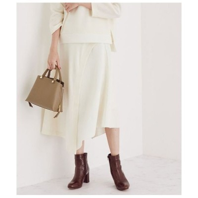 ROPE' / ロペ 【セットアップ対応】ウールジャージニットコンビスカート