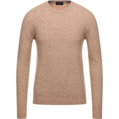 ロベルトコリーナ ROBERTO COLLINA メンズ ニット・セーター トップス Sweater Camel
