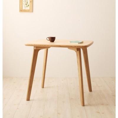 テーブル単品 幅80cm 天然木ウィンザーダイニング Cocon ココン ダイニングテーブル 木目 天然木アッシュ突板 机