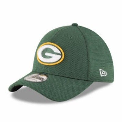 New Era ニュー エラ スポーツ用品  New Era Green Bay Packers Green Sideline Tech 39THIRTY Flex Hat