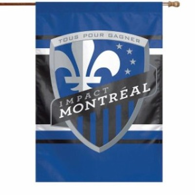 WinCraft ウィンクラフト スポーツ用品  WinCraft Montreal Impact 28 x 40 Double-Sided Vertical Flag