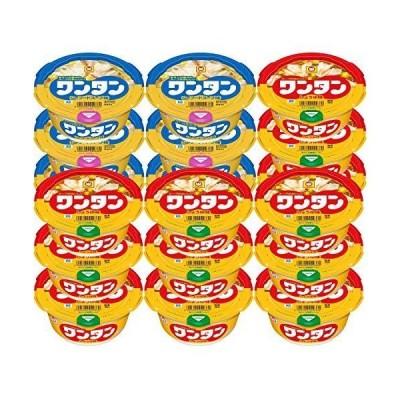 【セット商品】マルちゃん ワンタンスープ しょうゆ&シーフード味 2種アソート(しょうゆ味 12個 シーフード味6個)
