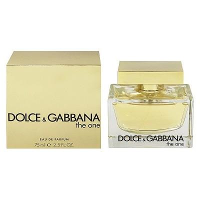 ドルチェ&ガッバーナ ザ ワン オーデパルファム スプレータイプ 75ml DOLCE&GABBANA 香水 THE ONE