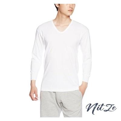 [グンゼ] インナーシャツ 快適工房 年間 綿100% 八分袖U首 KH3810 メンズ