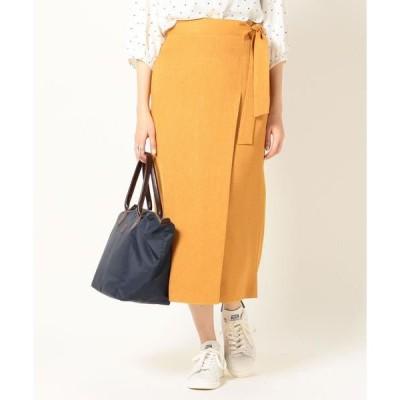 SHIPS for women / シップスウィメン SHIPS any:ラップライクタイトスカート