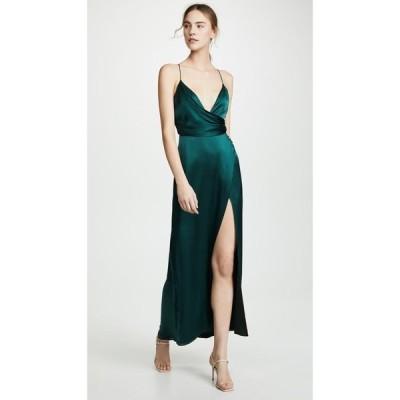 フェイム アンド パートナー Fame and Partners レディース ワンピース ワンピース・ドレス The Ferne Dress Dark Forest