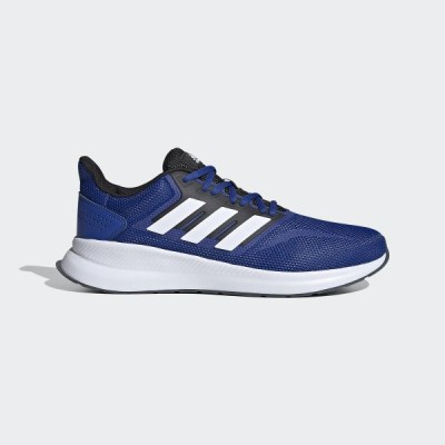 adidas アディダス FALCONRUN M GTF77 FW5055 ランニング ジョギングシューズ メンズ メンズ チームロイヤルブルー/フットウェアホワイト/コアブラック セ...