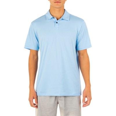 ハーレー Hurley メンズ ポロシャツ 半袖 トップス DRI Ace Short Sleeve Polo Psychic Blue
