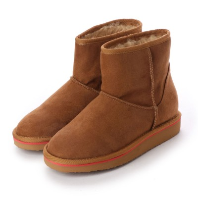 シューズラウンジ アウトレット shoes lounge OUTLET ショートブーツ 3650004C (キャメル)