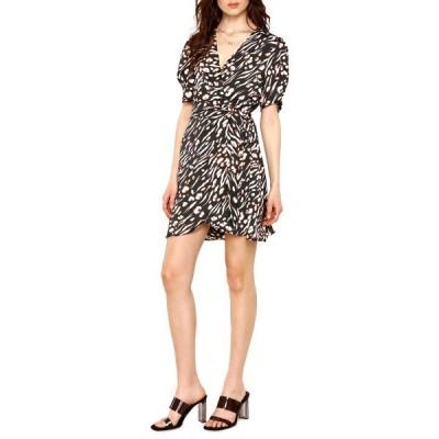 ハートルーム レディース ワンピース トップス Cheri Animal Print Mini Dress TIGER