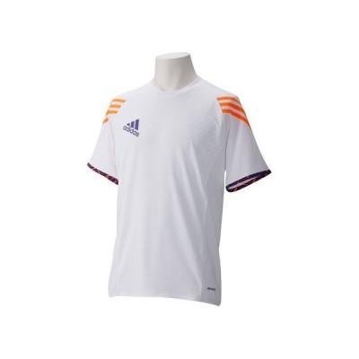 アディダス サッカー・フットサル シャツ AJ267 ホワイト ブラストパープル F13 ゼスト J Oサイズ
