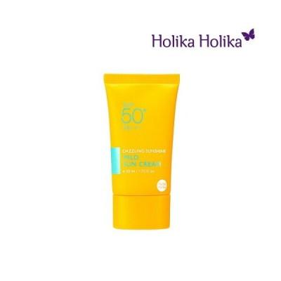 【送料無料】韓国コスメ HolikaHolika(ホリカホリカ)ダズリング サンシャイン マイルド サン クリーム(DAZZLING SUNSHINE MILD SUN CREAM)SPF50+,PA+++ 50ml【R