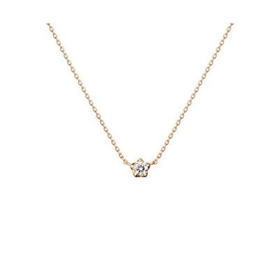 canal4℃(カナルヨンドシー)K18ピンクゴールド(PG)ネックレス ダイヤモンド 151521123102