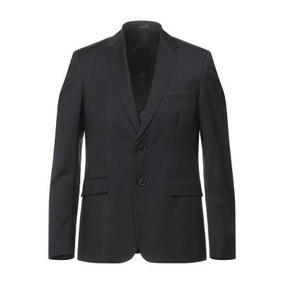 マウロ グリフォーニ MAURO GRIFONI テーラードジャケット ダークブルー 50 バージンウール 100% テーラードジャケット
