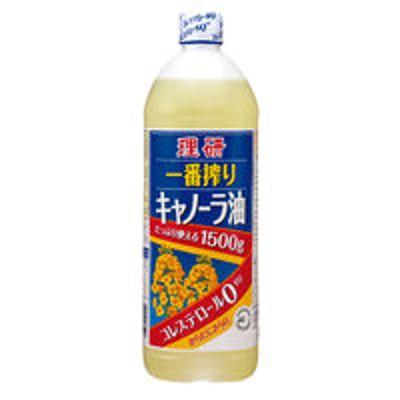 理研農産化工理研 一番搾りキャノーラ油 1500g