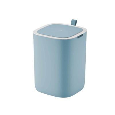 スタイリッシュカラーのセンサー式ゴミ箱 ブルー 12L