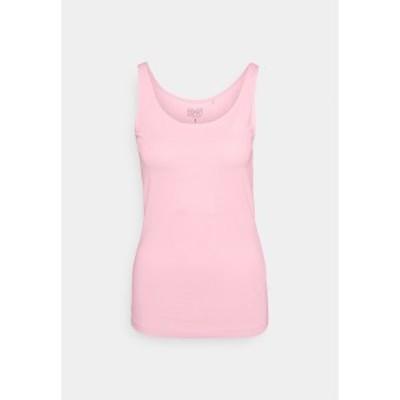 エスプリ レディース カットソー トップス Top - light pink light pink