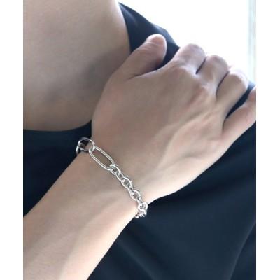 MASSIVE STORE / 【YArKA/ヤーカ】silver925 mix chain bracelet [HB1]/ミックスチェーンブレスレット シルバー925 MEN アクセサリー > ブレスレット
