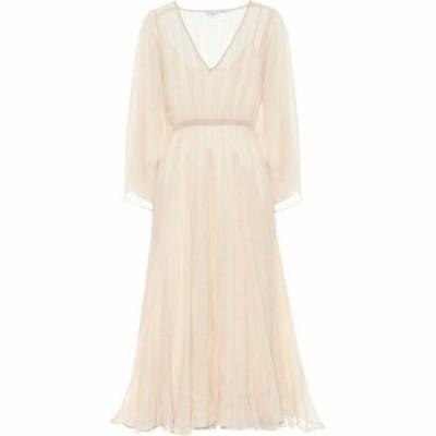 ロードリゾート RHODE レディース ワンピース マキシ丈 ワンピース・ドレス Emily metallic cotton maxi dress Gold Stripe