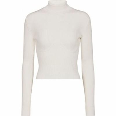 ガブリエラ ハースト Gabriela Hearst レディース ニット・セーター タートルネック トップス Russel ribbed-knit turtleneck sweater Iv