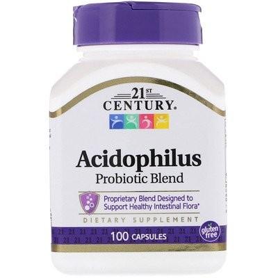 アシドフィルスプロバイオティックブレンド、100錠