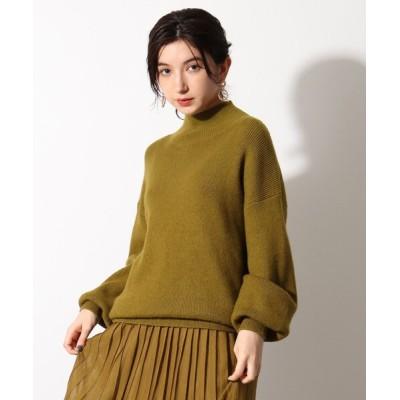 OZOC / 【洗える】イタリア糸ハイネックリブニットプルオーバー WOMEN トップス > ニット/セーター
