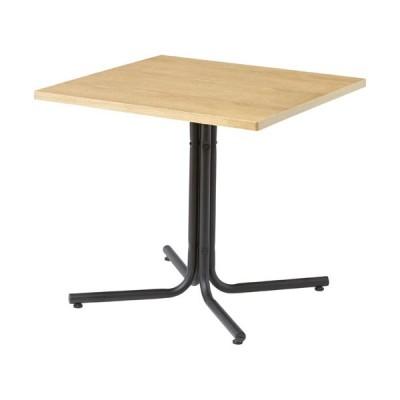 カフェテーブル ダイニングテーブル ダリオ 幅75cm 角型 ナチュラル テーブル 机