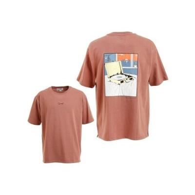 タイムリーワーニング(Timely Warning) プリントTシャツ 1551027-PNK (メンズ)