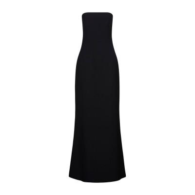 SAFIYAA ロングワンピース&ドレス ブラック 34 ポリエステル 96% / ポリウレタン 4% ロングワンピース&ドレス