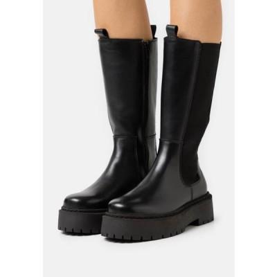 ザイン レディース ブーツ Platform boots - black