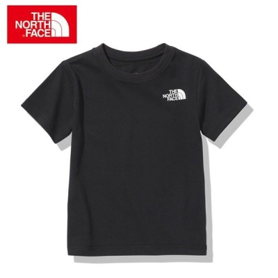 ノースフェイス 半袖シャツ ジュニア ショートスリーブスクエアロゴティー S/S Square Logo Tee NTJ32142 K THE NORTH FACE