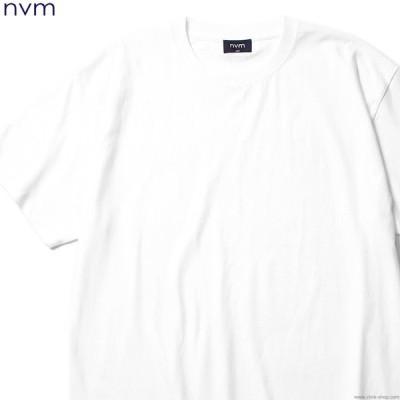 エヌブイエム NVM EX BIG T (WHITE) [NVM18S-TE02] メンズ Tシャツ 半袖 ホワイト