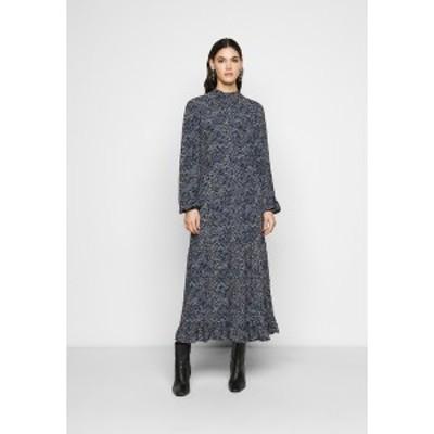 ヤス トール レディース ワンピース トップス YASSOFFI LONG DRESS - Day dress - twilight blue twilight blue