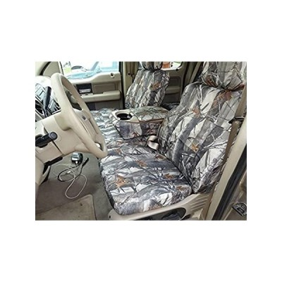 Durafit Seat Covers Made to fit 2004-2008 Ford F150 Super Crew Front 40/20/