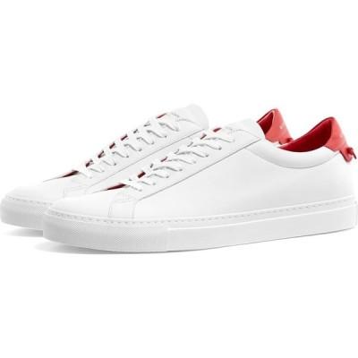 ジバンシー Givenchy メンズ スニーカー ローカット シューズ・靴 urban street low sneaker White/Red