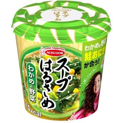 エースコック スープはるさめ わかめと野菜 21g×6個入り×6箱 (計36個) (KT)