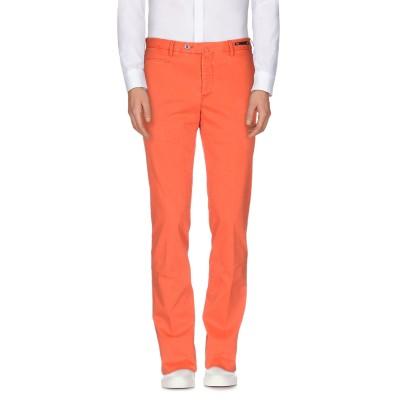PT Torino パンツ オレンジ 48 コットン 98% / ポリウレタン 2% パンツ