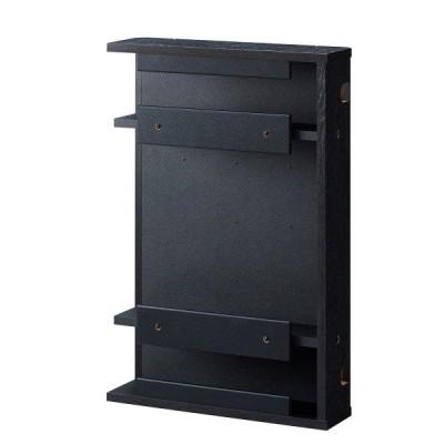テレビ裏ちょい足しボックス ブラック 送料無料〔代引不可〕