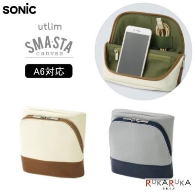 ユートリム スマ・スタ《utlim SMA・STA》モバイル立つバッグインバッグ モバイル(A6)サイズ [全2色]  ソニック 59-UT-4041-* *ネコポス不可*