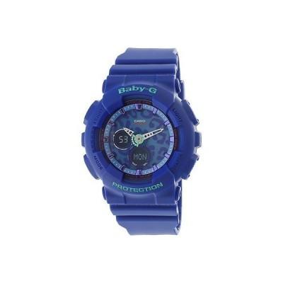 腕時計 カシオ Casio Women's Baby G BA120LP-2A Blue Resin Japanese Quartz Fashion Watch