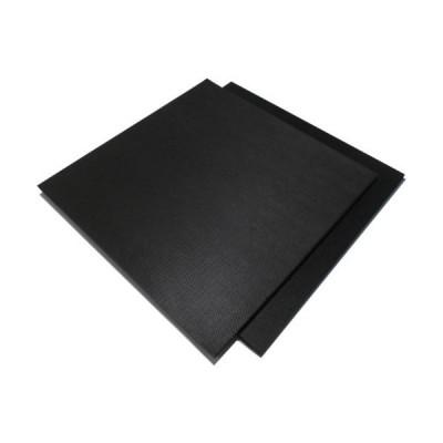 イノアック カームフレックス F-55 黒 10x1000x1000 化粧断ち加 ( F-55-10 ) (株)イノアックコーポレーション