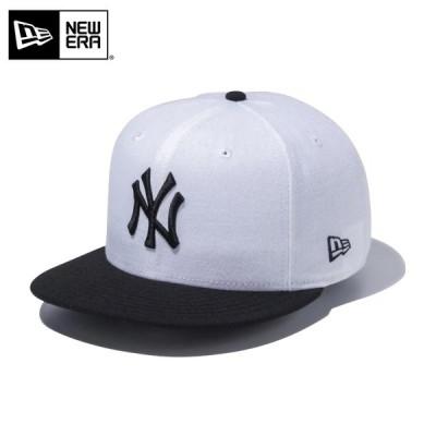 【メーカー取次】 NEW ERA ニューエラ 9FIFTY ニューヨーク・ヤンキース ホワイトXブラック 12492797 キャップ メンズ 帽子 ブランド【クーポン対象外】