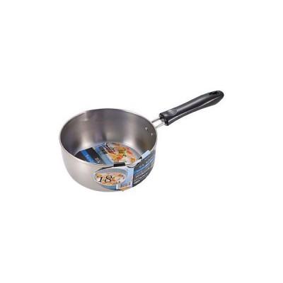 デイズキッチン ステンレス製行平鍋 パール金属 H-5172 18cm