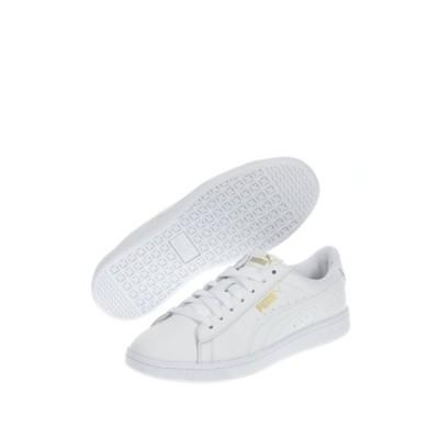 プーマ レディース スニーカー シューズ Vikky V2 Leather Sneaker  WHITE