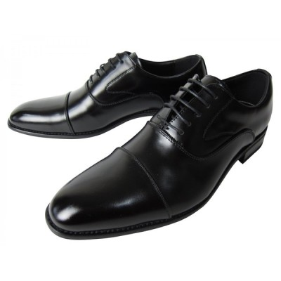 Limontiba リモンティバ   撥水加工・履き口パット 本革ビジネスシューズ紳士靴 ストレートチップタイプ  LM3016