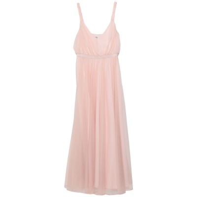 KATE BY LALTRAMODA ロングワンピース&ドレス ライトピンク 46 ポリエステル 100% ロングワンピース&ドレス