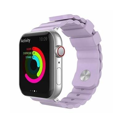 AhaStyle Apple Watch 交換用 バンド シリコン製 iWatch 38mm 40mm 42mm 44mm, Apple Watch Series 6, Series 5, Series 4, Series 3, Series 2, S
