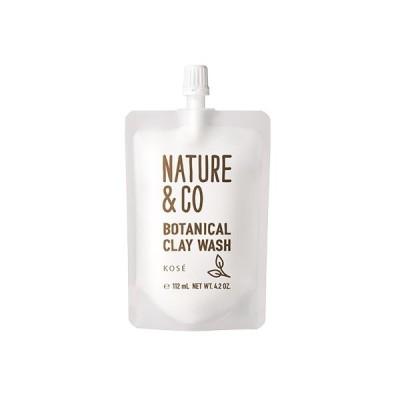【新発売】Nature&Co(ネイチャーアンドコー) ボタニカル クレイ ウォッシュ 120g