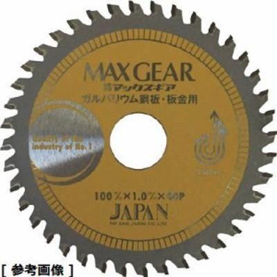 チップソージャパン MGB125 チップソージャパン マックスギア ガルバ・板金用125